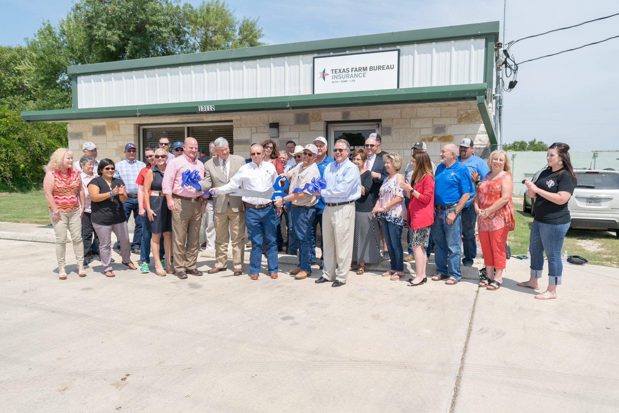 Texas Farm Bureau Ribbon Cutting